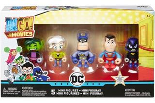 Teen Titans Go! Pack De 5 Personajes Juguetería El Pehuén