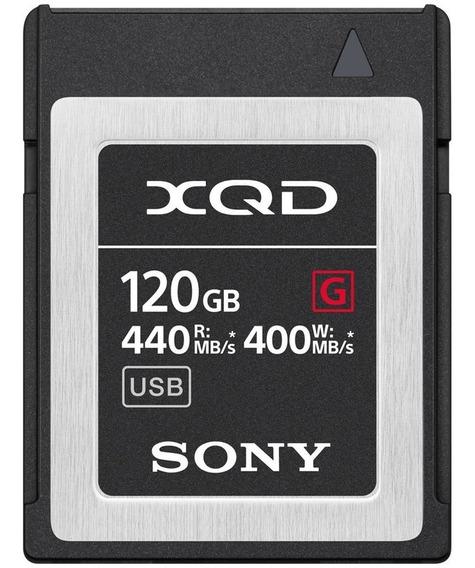 Memoria Xqd Sony 120gb Qd G Series 440mb/s Lacrado Original