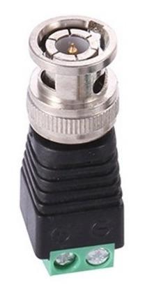 Imagen 1 de 6 de Bnc Balum Macho Conector A Coaxial Cat5 Cctv Adaptador 20 Pz