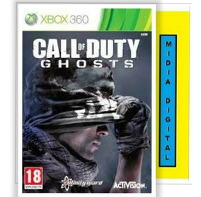 Call Of Duty Ghosts Xbox 360 - Midia Digital