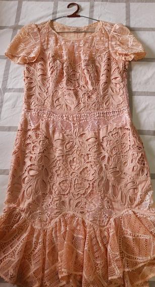 Vestido De Renda Renascença Almerinda Maria