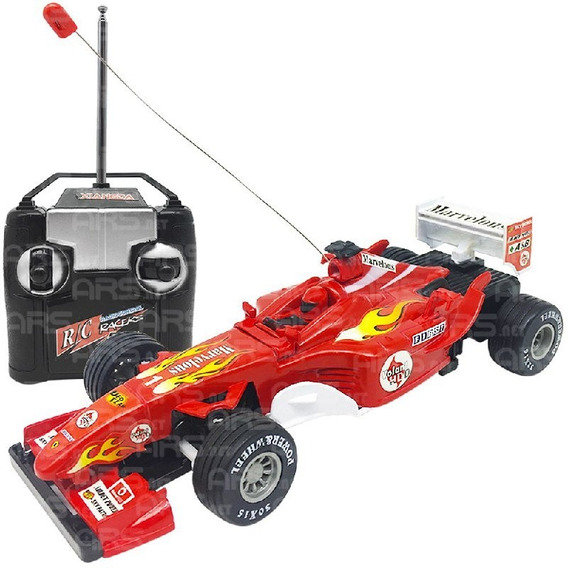Carrinho De Controle Remoto Ferrari Formula 1 F1 Deluxe Car