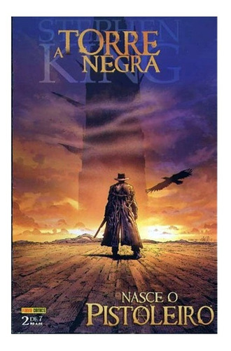 A Torre Negra Nasce O Pistoleiro 2 Stephen King Panini 2008