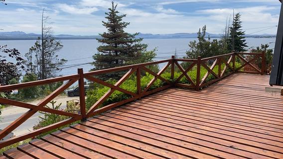 Esplendida Casa En Bariloche Con Vista Al Lago