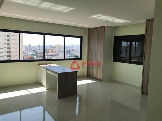 Loft Com 44 M² - Condomínio Lofts Art Desing - Centro - Taubaté/sp - Lf0009