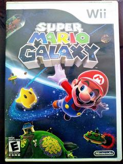 Envio Gratis Super Mario Galaxy Nintendo Wii + Booklet