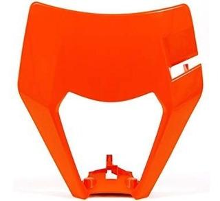 Mascara Cubre Optica Ktm Exc Racetech Naranja Trapote Racing