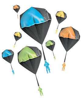 Aeromax Glow Tangle Free Toy Parachute, Paquete De 2