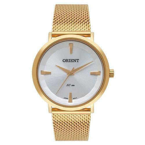 Relógio Orient Feminino Dourado - Fgss0140 S1kx