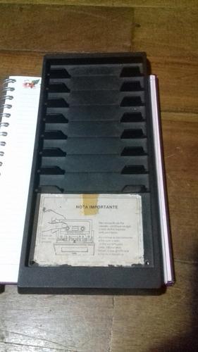 Porta Fita Som Antigo National Ledsonic Ss9000