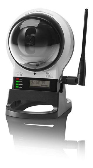 Camera Cisco Wvc210 Wireless-g Ptz Internet Security C/áudio