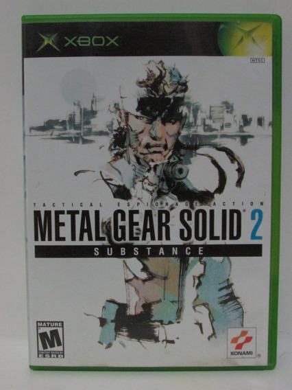 Metal Gear Solid 2 Substance Xbox Clássico Original Completo
