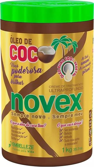 Creme De Tratamento Ultraprofundo Novéx Óleo De Coco 1kg