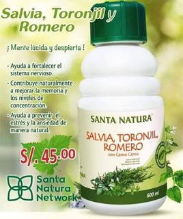 Salvia,romero Y Toronjil Santa Natura
