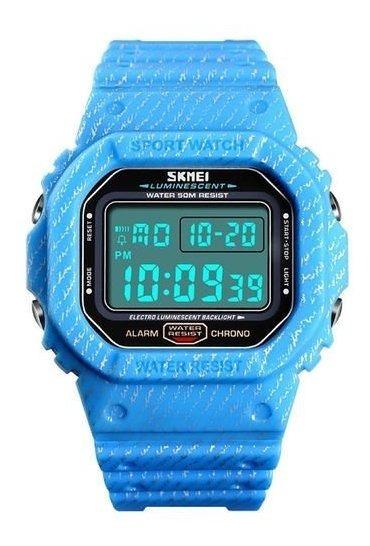 Relógio Masculino Skmei Digital 1471 - Azul Bebe