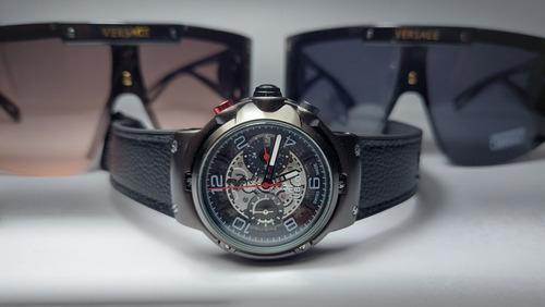Imagen 1 de 7 de Reloj Hblt Ferrari Cuarzo Crono Audemars Patek Bulgari Pila