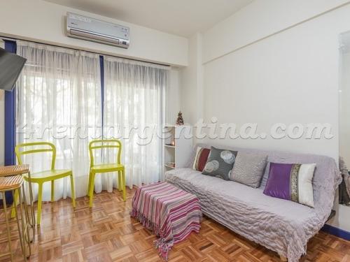 Imagen 1 de 14 de Monoambiente Con Balcón Para 3 Personas En Palermo