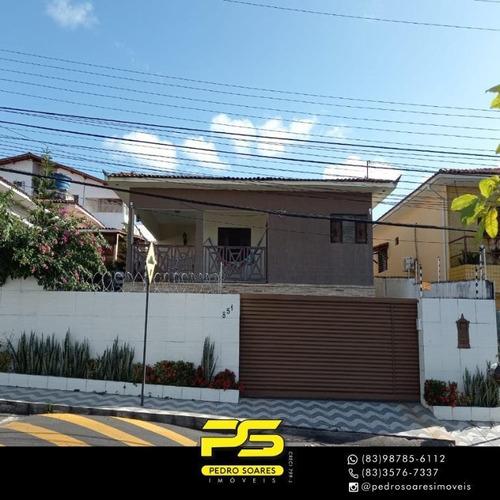 (oportunidade) Casa Com 3 Dormitórios À Venda Por R$ 500.000 - Jardim 13 De Maio - João Pessoa/pb - Ca0830