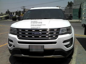 Ford Explorer 2016 Xlt 7 Pasageros Tela 6 Cil Eng $ 79,000