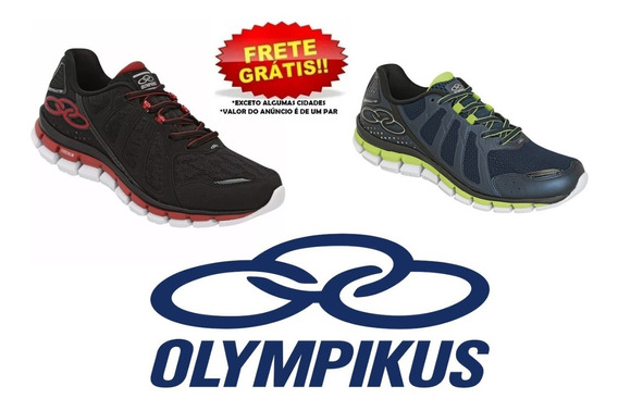 Tênis Olympikus Diffuse Masculino Original Nota Fiscal