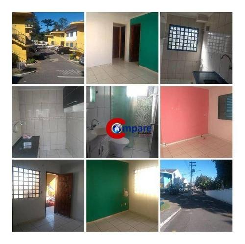 Imagem 1 de 18 de Casa À Venda, 56 M² Por R$ 160.000,00 - Cumbica - Guarulhos/sp - Ca1077