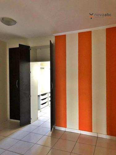 Apartamento Com 2 Dormitórios Para Alugar, 100 M² Por R$ 1.400,00/mês - Parque Capuava - Santo André/sp - Ap0438