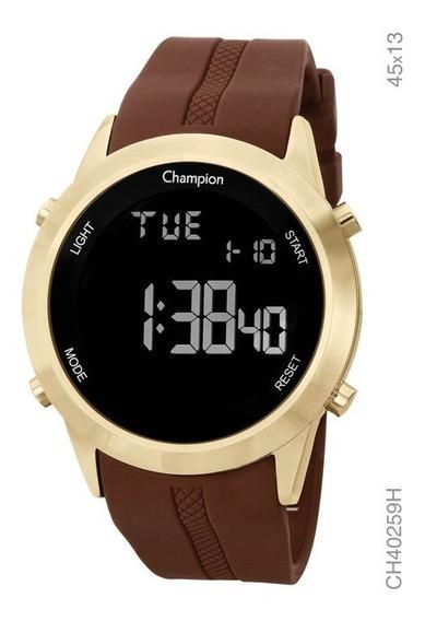 Relógio Champion Masculino Digital Silicone Ch40259h