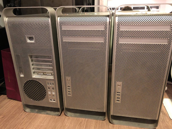 Três Mac Pro A1186.