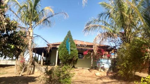 Chácara Com 3 Dormitórios À Venda, 1025 M² Por R$ 690.000 - Monterrey - Louveira/sp - Ch0059