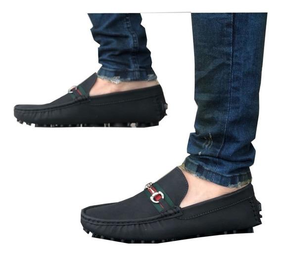 Zapatos Hombre, Mocasin Caballero, Gucci, Casual