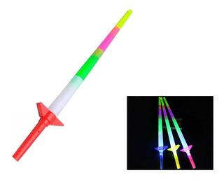 40 Espadas Con Luz Economica Fiestas Cumpleaños M59