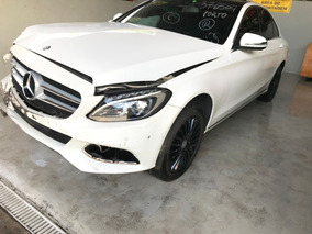 Sucata Mercedes-benz C200 2.0 Turbo 2016