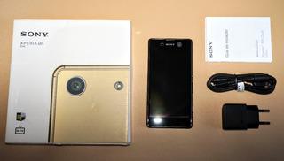 Sony Xperia M5 Dual E5643 Preto 16gb Falha Placa E Microfone