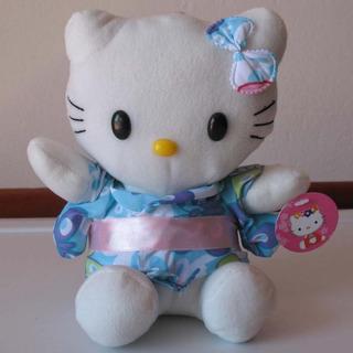 Adorable Kitty Vestidita Con Kimonito Celeste Fucsia ¡divina
