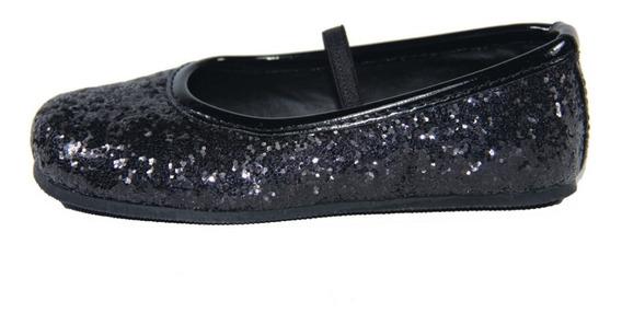 Chatita Pians Glitter Negro Del 20 Al 26