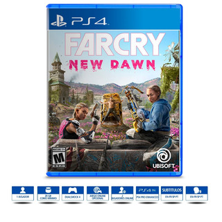 Far Cry New Dawn Juego Ps4 Físico Sellado Español Latino