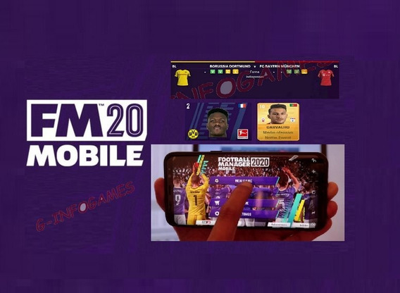 Football Manager 2020 Mobile Fm 2020 Mobile + Mega Pack