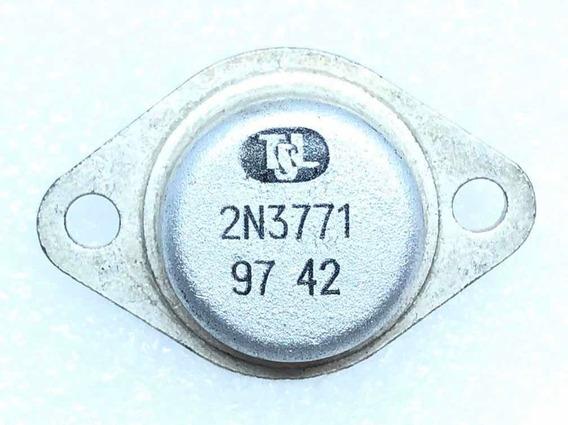 Kit 8pcs 2n3771 Transistor Metálico Original Novo