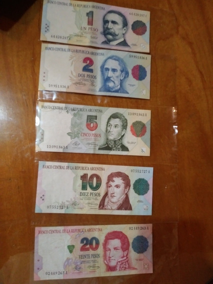 Serie De Billetes Pesos Convertibles