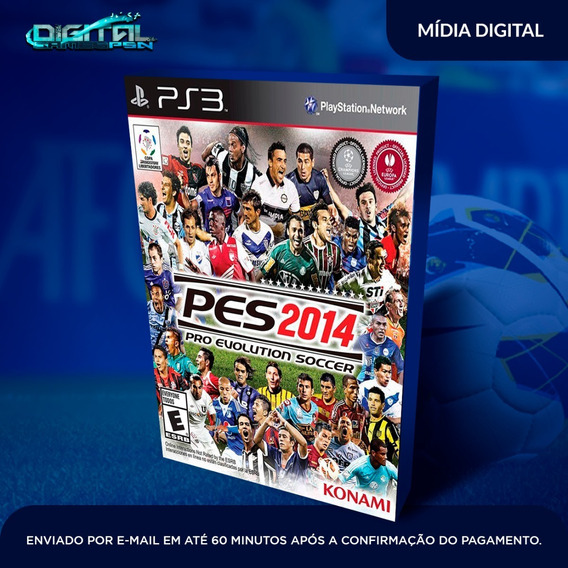 Pro Evolution Soccer 2014 Ps3 Midia Digital Em 10 Min!