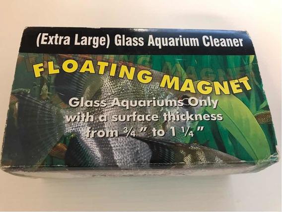 Limpador Magnético Extra Large Magfloat 500 Vidro Até 32mm
