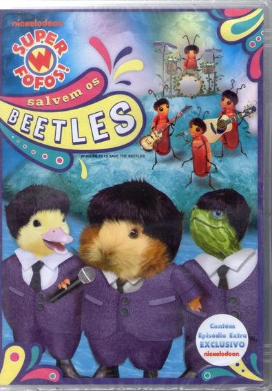 Dvd-super Fofos! Salvem Os Beetles
