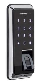 Fechadura Digital Intelbras Fr 220 Biometria E Teclado Touch