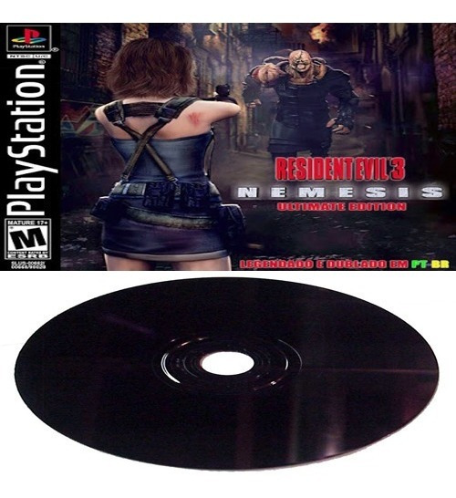 Resident Evil 3 Ultimate Edition - Playstation 1 Ou Play 2