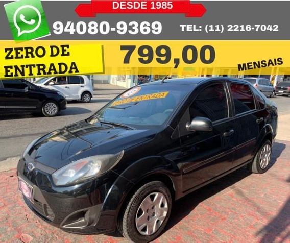 Ford Fiesta Sedan 1.6 Flex 2012 Zero De Entrada