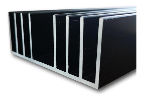 8.7cm Ancho, 100cm Largo. Disipador De Calor Aluminio. Perfecto Para Iluminación Led, Acuarios, Transistores.