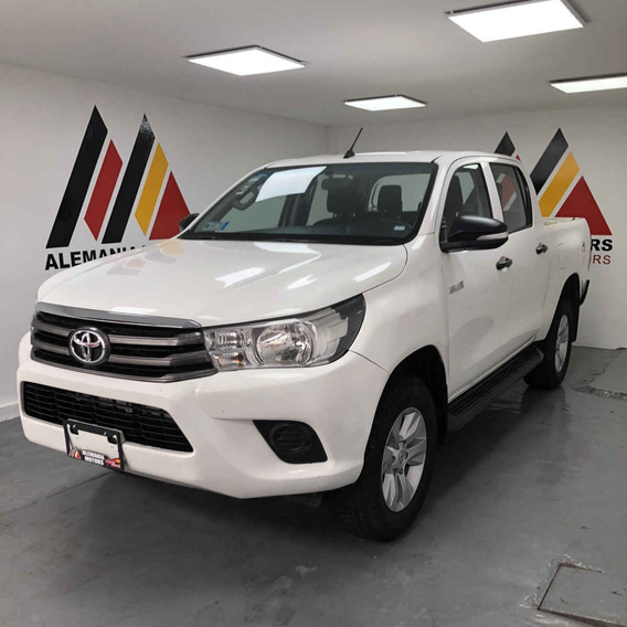 Toyota Hilux 2016 4p Doble Cabina Sr L4/2.7 Man