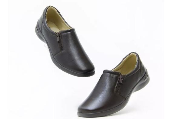 Zapato Flexi Dama Moka 48303