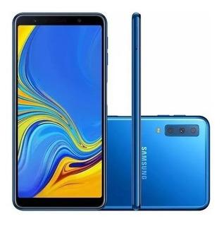 Smartphone Samsung Galaxy A7 128gb (2018) 4gb Ram Tela 6.0