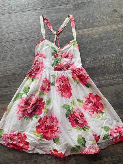 Vestido Abercrombie Flores
